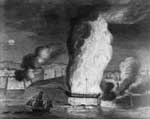 USS Philadelphia: Burning of the Frigate Philadelphia in the Harbor of Tripoli