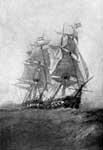 USS United States: The United States Commanded by Stephen Decatur takes the Macedonian
