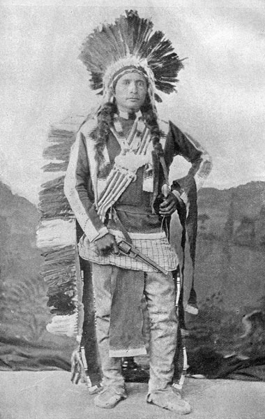 Ute Indians: Chief Tusaquinot - Ute Tribe
