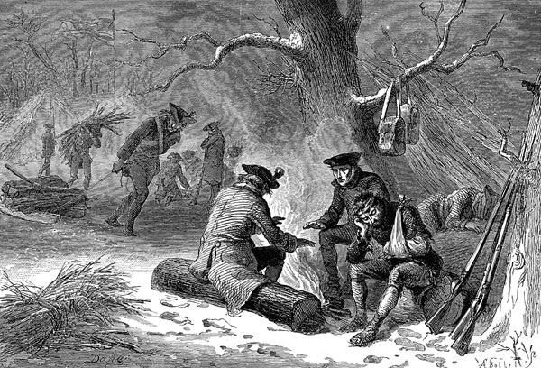 the battle of valley forge Best answer: valley forge was the site of the 1777-1778 winter camp of the american army during the american revolutionary war the american continental army suffered great physical hardships at valley forge, but it emerged from the ordeal as a trained force for the first time capable of defeating the british army in a european-style battle.