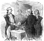 Valley Forge: Taking the Oath of Allegiance at Valley Forge