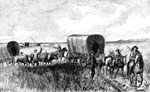 Wagon Trains: Kansas Emigrant Train