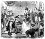 Walter Raleigh: Queen Elizabeth Knighting Walter Raleigh