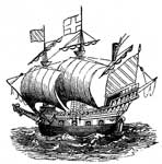 Walter Raleigh: One of Walter Raleigh's Ships