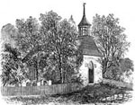 Washington Irving: Old Church at Sleepy Hollow