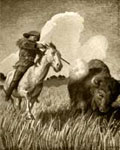William Frederick Cody: Hunting Buffalo