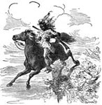 William Weatherford: Leap of Weatherford's Horse