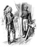William Weatherford: General Jackson and the Indian Chief