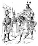 William Weatherford: Weatherford Surrenders to General Jackson