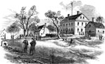 Yorktown Virginia: The Parish Church, 1866