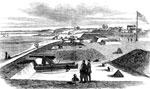 Yorktown Virginia: Fortifications of Yorktown, Looking Toward the River